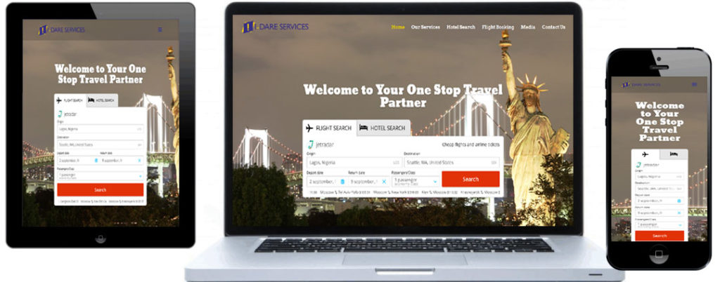 Idare Services website