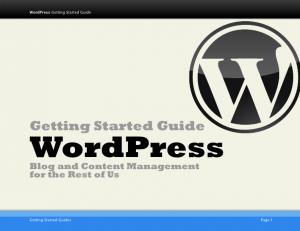 Getting Started on WordPress