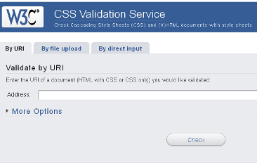 CSS Validation Service