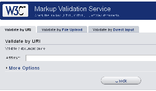 HTML Validation Service