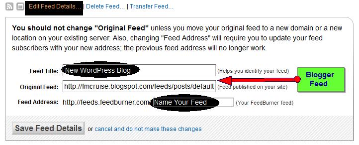feed editing