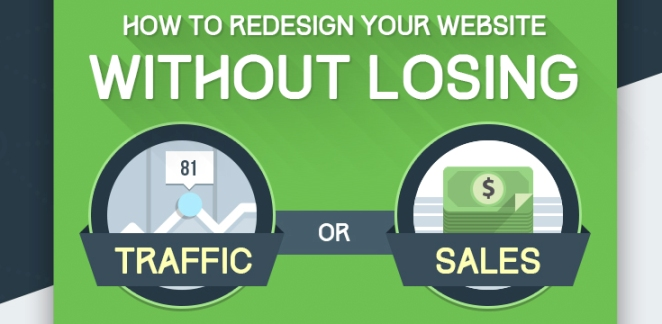 How To Redesign A Website Without Loosing Traffic or Sales