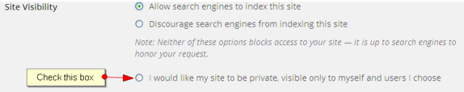 Site Visibility