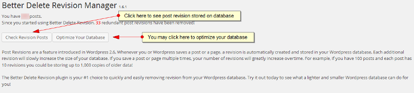 Better Delete Revision plugin